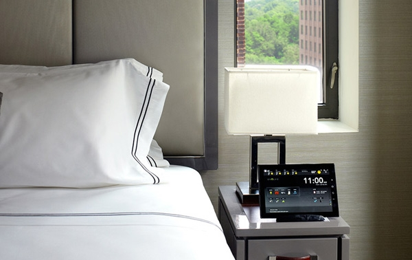 Guest room at The Quin, New York