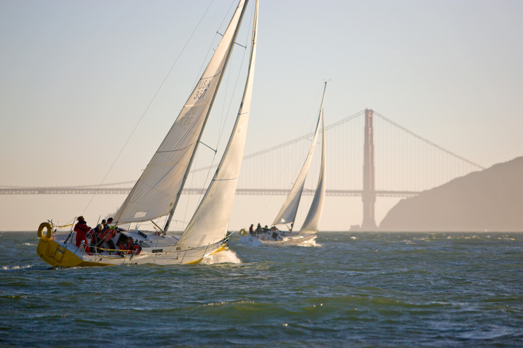 Sailing in San Francisco Bay with OCSC Sailing