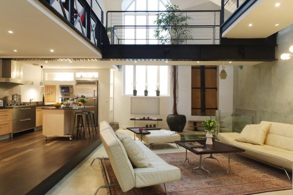A Paris loft available through HomeAway