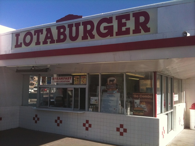Lotaburger in Santa Fe, the name says it all.