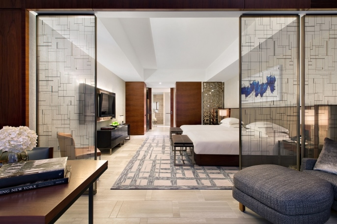 Guest rooms and suites in the new flagship Park Hyatt New York will be among the largest in the Big Apple.