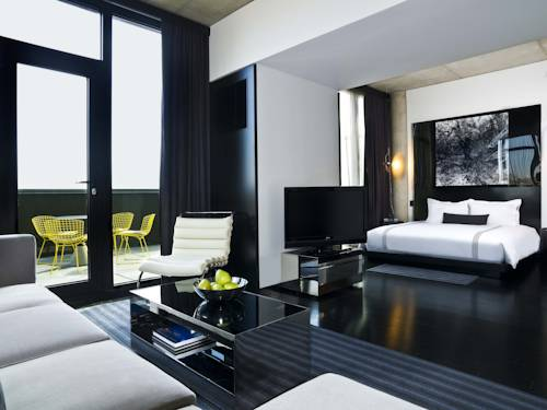 Guest room at Sixty LES