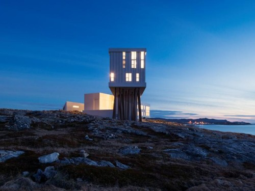 Fogo Island Inn, Newfoundland. Photo by Alex Fradkin
