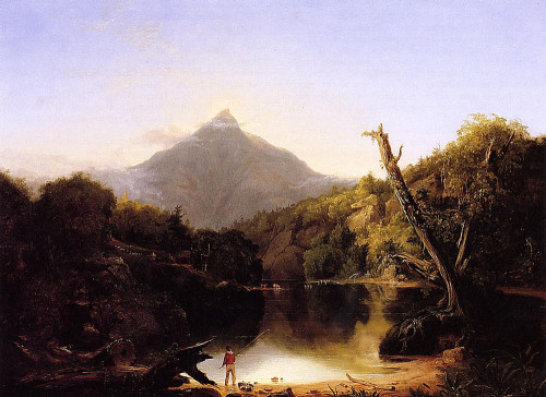 """Mount Chocurua, New Hampshire"" by Thomas Cole"