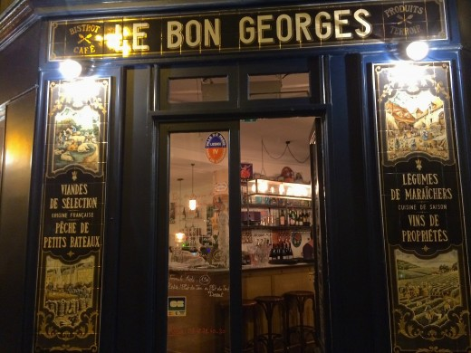 Le Bon Georges, Paris