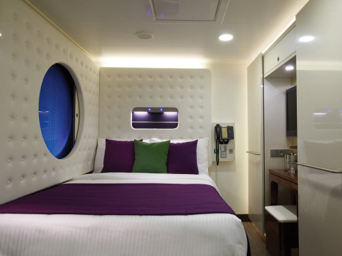 A studio cabin on NCL's Norwegian Breakaway