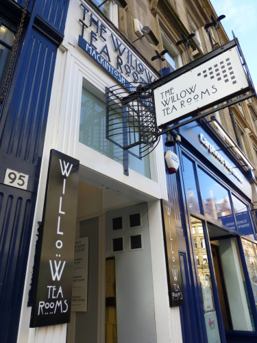 Charles Rennie Mackintosh's Willow Tea Rooms, Glasgow