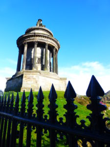 The Burns Monument, Edinburgh PHOTO Monique Burns.