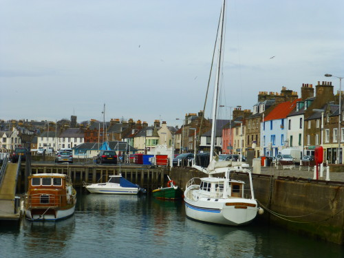 The harbor at Anstruther. Photo Monique Burns