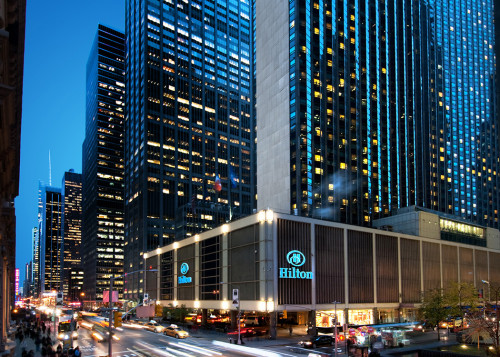 The New York Hilton, 2014