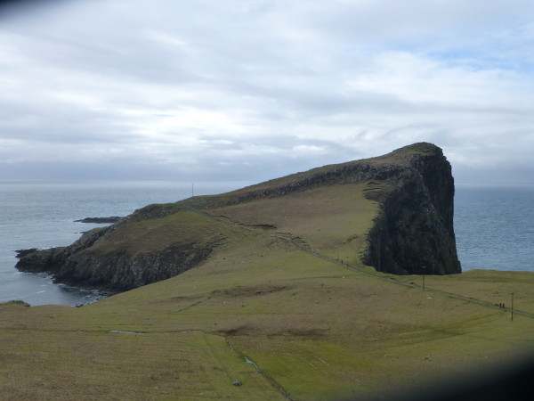 Neist Point, Skye's westernmost landfall. Photo Monique Burns