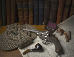 Museum of London objects for Sherlock Holmes Exhibition