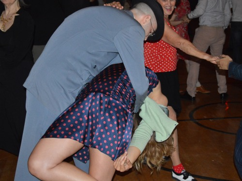 Swing Remix dance, part of the weeklong tribute to the late Frankie Manning,  one of the Lindy Hop world's legends.