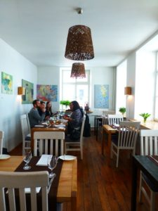 At Riga's Valtera restaurant, diners savor innovative locally sourced cuisine. Photo Monique Burns.
