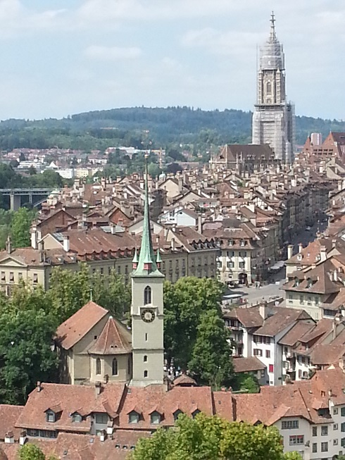 View of Bern from the Rose Garden. Photo by Gerrie Summers