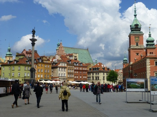 Warsaw's Old Town, a UNESCO World Heritage Site. Photo Monique Burns