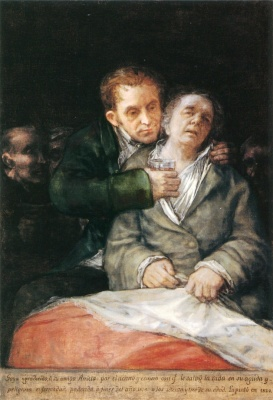 Self-Portrait with Doctor Arrieta (1820, The Minneapolis Institute of Arts)