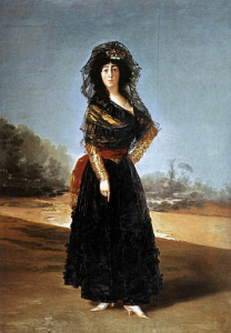 Thirteenth Dutchess of Alba (1797, Hispanic Society of America, New York)