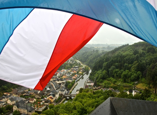 Luxembourg with a view.