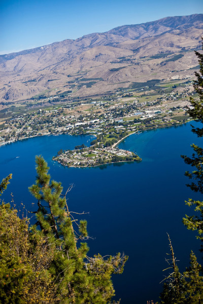 Lake Chelan, a 55-mile ribbon of glacier-fed water, is tucked into Washington's Cascade mountains. Courtesy of Lake Chelan Chamber of Commerce