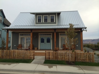 Cheerful vacation rental cottages at The Lookout add to the small-town feel of this planned community. By Julie Snyder