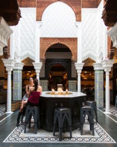 Acabar in West Hollywood boasts Moorish decor and a world-beat of delicacies. PHOTO CREDIT: Acabar