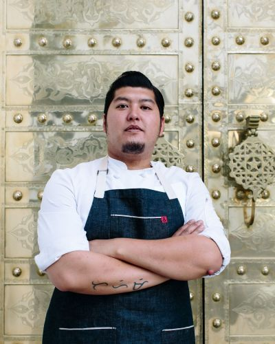 "Kevin Luzande, chef de cuisine at Acabar in West Hollywood, was a Zagat's ""30 under 30""honoree. PHOTO CREDIT: Acabar"