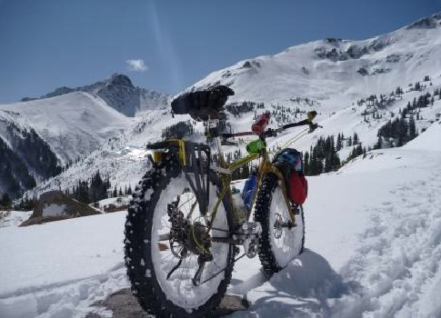 A Fat Bike at Telluride, CO