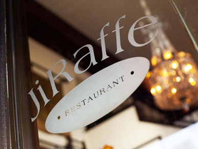 Jiraffe in Santa Monica. PHOTO Jiraffe