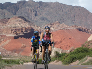 Biking in Northern Argentina with ExeriencePlus!