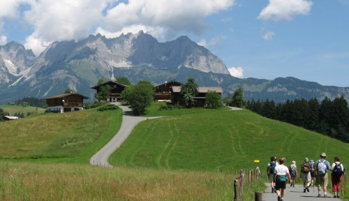 The Tyrolean Alps