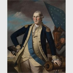 George Washington by Charles Willson Peale, 1741 – 1827. Courtesy Crystal Brides Museum of American Art.