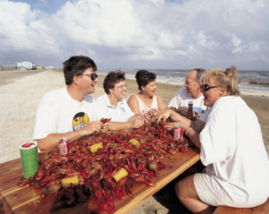 Crawfish everywhere. Credit: www.monsoursphotography.com