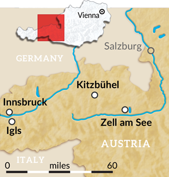Tyrolean Alps walk with The Wayfarers.