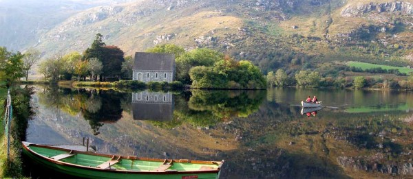 The view from Gougane Barra, Cork