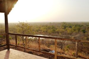 A room with a view at Zaina Lodge, Ghana