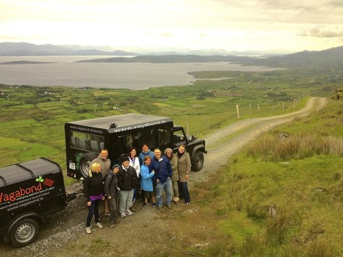 Seeing the Wild Atlantic Way with Vagabond Adventure Tours of Ireland.