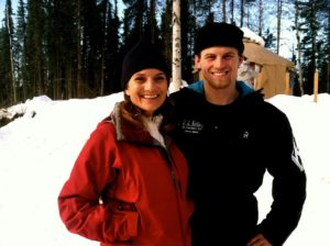 Fan shot with Dallas Seavey, before he became the 2014 Iditarod champion.