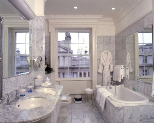 Bathroom at The Merrion.
