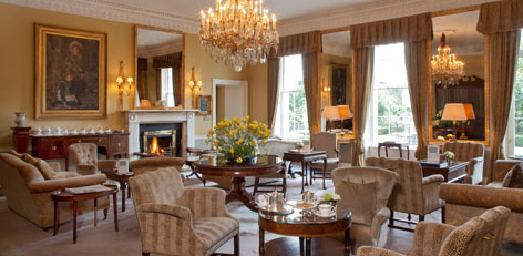 A welcoming room at The Merrion, Dublin.