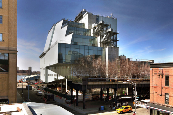 The Whitney Museum of American Art. Courtesy of the Whitney.
