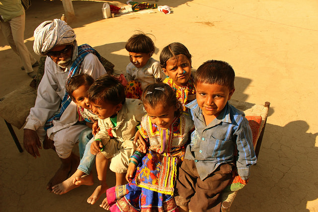 Children in Gurjarat.