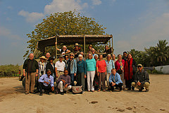 Immersion Journeys travelers in Gurjarat