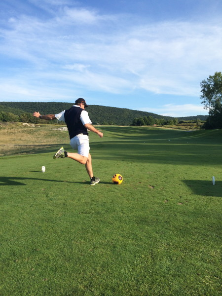 Foot Golf at Crystal Springs Resort. Photo by John Grossmann.