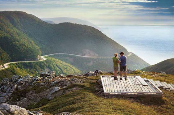The Cabot Trail, Nova Scotia.