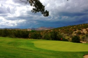Cochiti Golf Course.