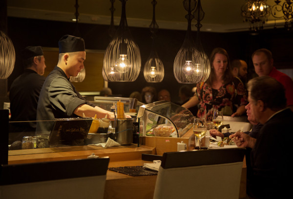 ushi Bar at Restaurant ANZU PHOTO Matthew Millman