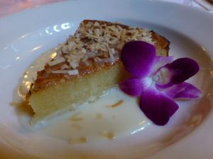 Traditional Vietnamese baked cassava cake at Le Colonial PHOTO Monique Burns