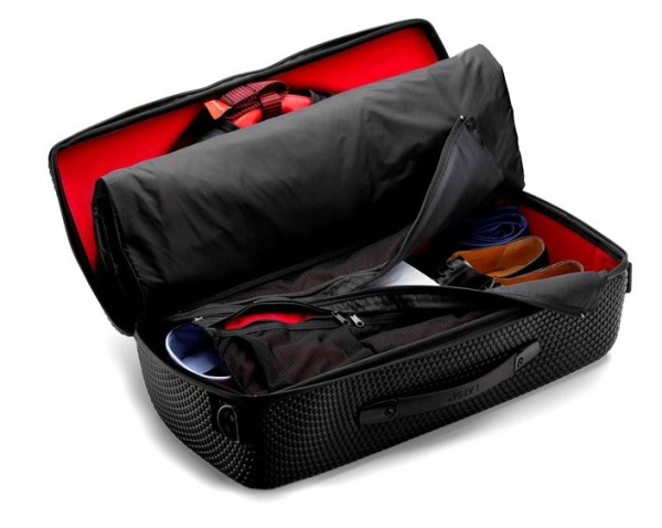 The new RedEye garment bag from LAT 56 eliminates wrinkles, saves space, is easy to carry on, and just works great.