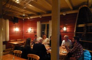 After a long day of exploring, nothing's better than a dinner of cod or reindeer at Hamnøy Mat & Vinbu.  PHOTO Monique Burns